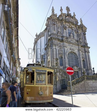 Church of clerics in Porto