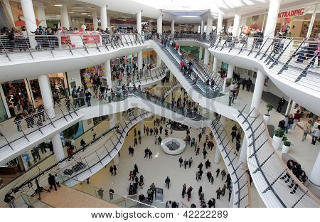 Sofia Bulgaria Shopping Mall