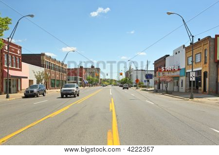 Downtown Benton Harbor Michigan