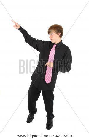 Adolescente bailando