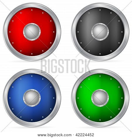 Color Circle Shields