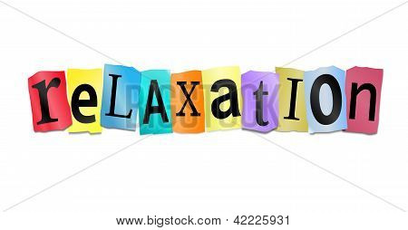 Relaxation Concept.
