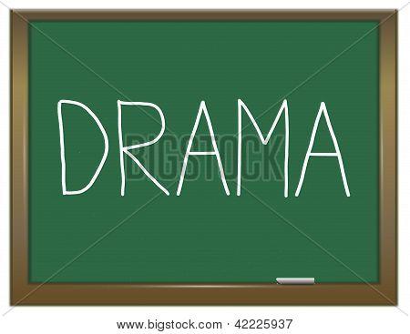 Drama Concept.