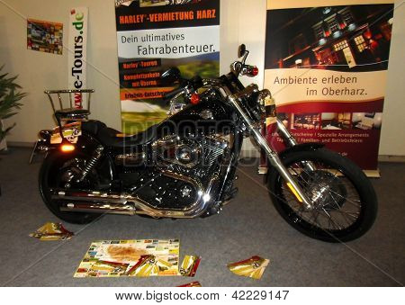 Hamburg, Germany - January 26: The Motorbike  On January 26, 2013