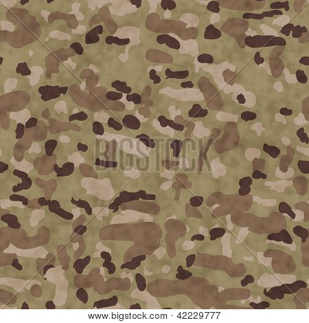 Camouflage Fabric Background