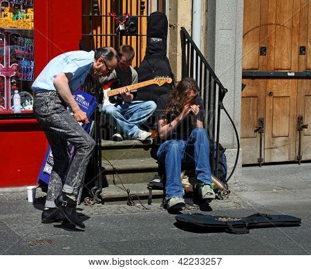 Musicians in Edinburgh