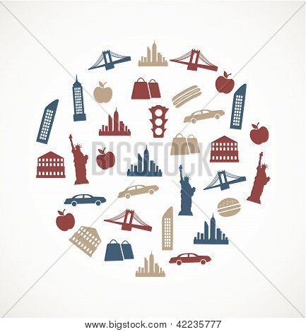 New York  symbols