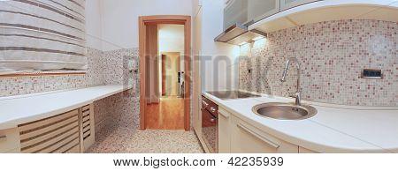 Panoramic Kitchen
