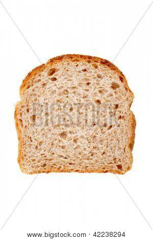 Foto de la rebanada de pan