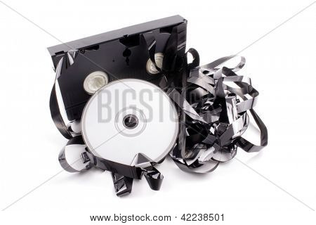 Photo of Video tape to DVD