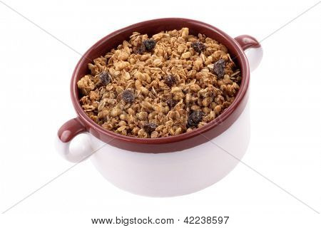 Photo of Cereal in a bowl