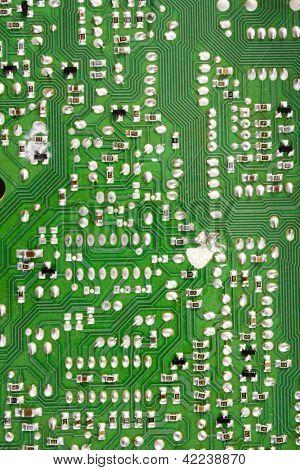 Photo of Circuit board solders