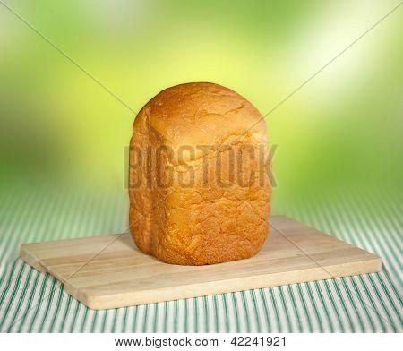 Bread Machine Making Fresh Bread At Home.