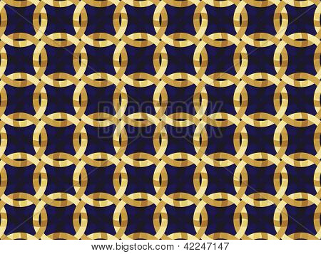 Pattern With Interwoven Ornament