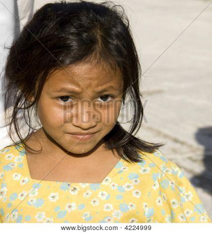 Young Mayan Child