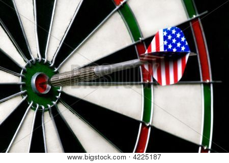 Close Up Of A Bulls Eye