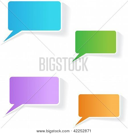 Clean and Simple Talk Balloon