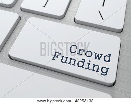 Crowd Funding Button.