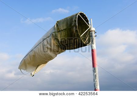 Windsock On Airfield