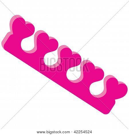Separadores de dedo del pie
