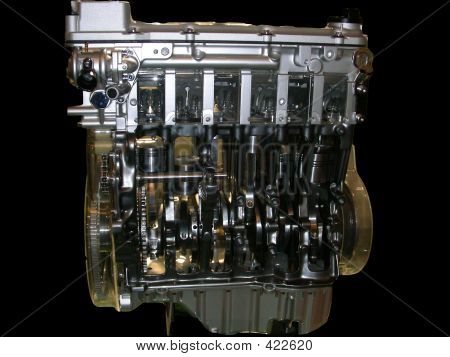 transparente motor PKW-Motor
