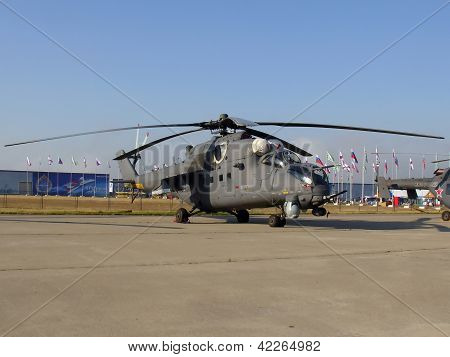 Russian Military Helicopter Mi-35