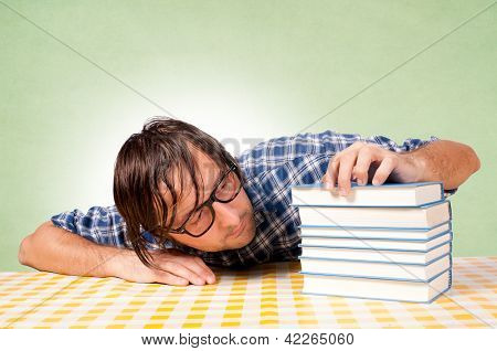 Drowsiness On Books