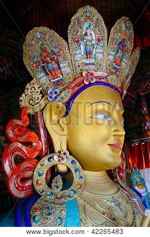 Golden Maitreya Buddha