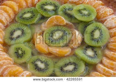 Mandarin And Kiwi Tart