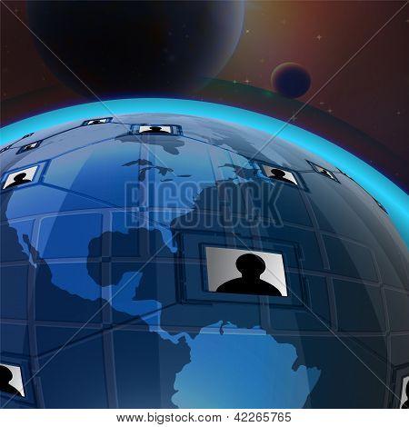 Globe Internet Network & Space