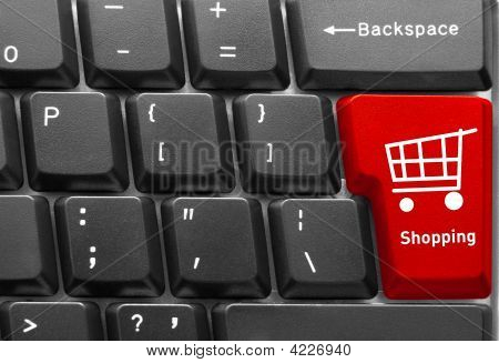 Computer-Tastatur-Konzept