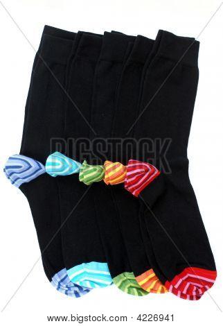 Socken mit verschiedenen Farben