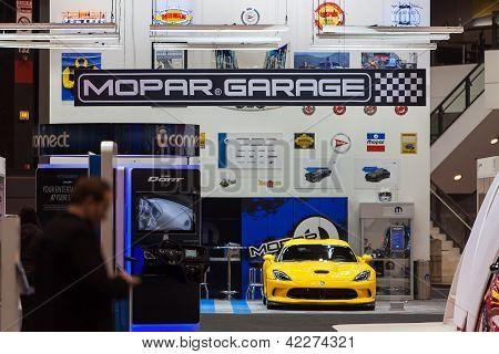 Mopar Garage 2013 Chicago Auto Show