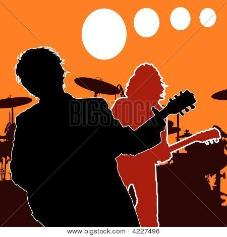 Rock Guitar Players