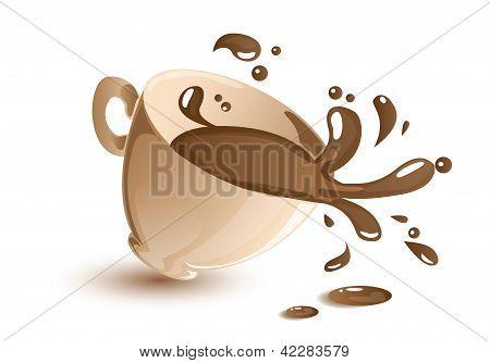泼咖啡 库存矢量图和库存照片 | bigstock