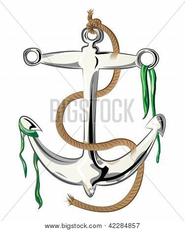 Ship's anchor