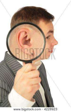 Vergrößern von Ohr