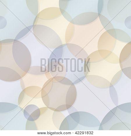 Seamless Pattern - Vector Rainbow Circles