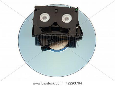 Minidv Tape Over Dvd