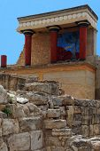 North Entrance Of Knossos Palace