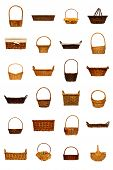 Wicker Basket Collection