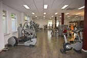 picture of physical therapist  - Paramedical centre big room for health training - JPG