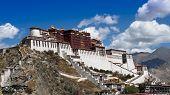 Tibet landmark - Potala Palace poster