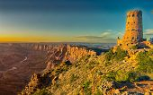 Desert View Watchtower At Sunset