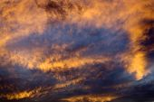 pic of missoula  - Montana Sky Abstract at Sunset Missoula - JPG