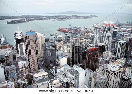 Rascacielos de Auckland