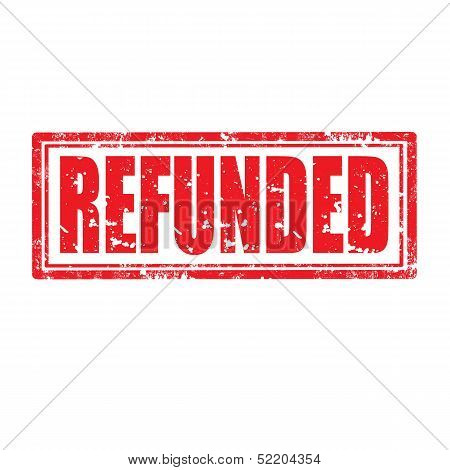 Refunded-stamp