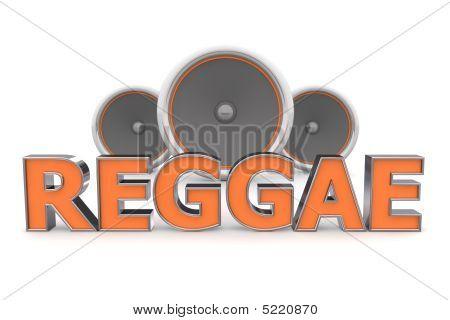 Speakers Reggae – Orange