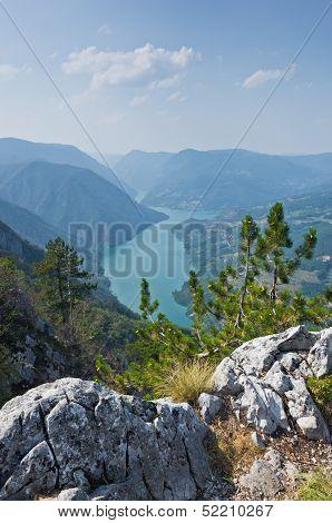 Viewpoint Banjska rock at Tara mountain and national park