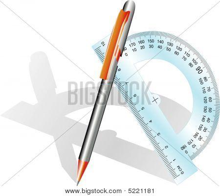 Pencil And Angle